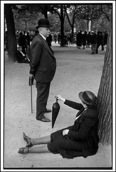Henri Cartier-Bresson  FRANCE. Versailles. George VI's royal visit. 1938.