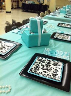 TIFFANY & CO Birthday Party Ideas | Photo 1 of 8 | Catch My Party