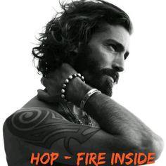 Hop Kincaid -  Fire Inside by Kristen Ashley pin made by Shanda