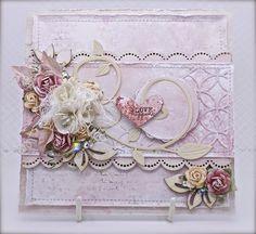 a sprinkle of imagination: 7 Dots Studio - Wedding Card Max 2015, Creative Cards, Atc, Handmade Cards, Creative Design, Wedding Cards, Sprinkles, Imagination, Embellishments