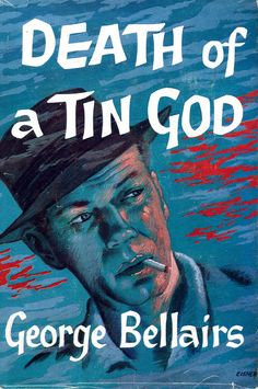 https://flic.kr/p/6hnSsg | Death of a Tin God | George Bellairs - Death of a Tin God, Thriller Book Club, 1961. Cover art by Eisner.  SUPERINTENDENT Littlejohn of Scotland Yard becomes involved in the murder of a famous film-star on location on the Isle of Man. The case not only concerns life in the fantastic atmosphere of the film world, but of high finance and the tycoons who manipulate it. as well. The threads of this strange affair are international and stretch from Dublin to London and…