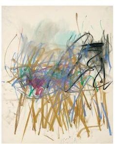 Joan Mitchell, _Untitled_, 1978, 21-1/2 x 17-1/2 inches, pastel on paper. Courtesy of Lennon, Weinberg, Inc..