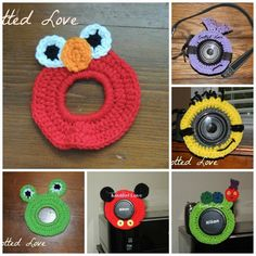 Lens Critters  via Craftsy