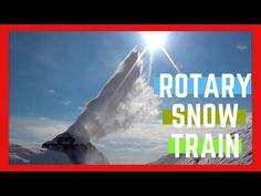 Working Hard - Train snowblower - Rotary Snow Train - Train Snow Plow - Rotary Snow Plow Blower 2019 - YouTube Snow Plow, Working Hard, Rotary, Train, Youtube, Work Hard, Strollers, Youtubers, Hard Work