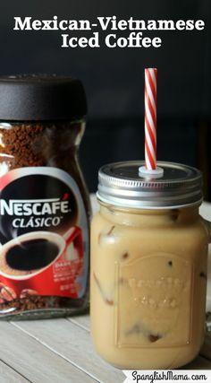Dare to break the routine! Mexican-Vietnamese Iced Coffee #MomentoNESCAFE #ad