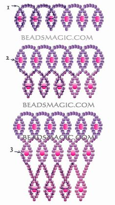 Beading | Entries in category Beading | Blog Raduga_58: LiveInternet - Russian Service Online Diaries (DUSTY ROSE ~ PAGE 2 OF 2)