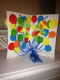 Hand made birthday card