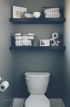Looking for half bathroom ideas? Take a look at our pick of the best half bathroom design ideas to inspire you before you start redecorating. Half bath decor, Half bathroom remodel, Small guest bathrooms and Small half baths Decor, Bathroom Decor, House Bathroom, Guest Bathroom, Bathrooms Remodel, Toilet Room, Downstairs Bathroom, Home Decor, Bathroom Design