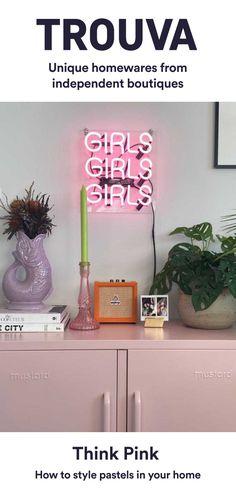 Room Ideas Bedroom, Bedroom Decor, Bedroom Inspo, Dream Bedroom, Mrs Teapot, Vase, Chandeliers, Pastel Pink, Lilac