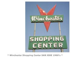 The old Winchester shopping center in Campbell on Winchester Rd in Campbell, CA