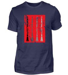 Ich spiele KLARINETTE Musik Geschenk T-Shirt
