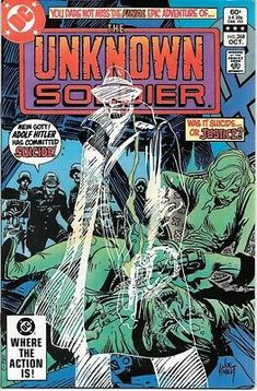 The Unknown Soldier Comic Book #268 Death Issue DC Comics 1982 NEAR MINT | eBay Old Comic Books, Comic Book Pages, Comic Book Covers, Comic Book Characters, Comic Character, War Comics, Horror Comics, Marvel Comics, Unknown Soldier
