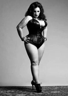Big ass corset