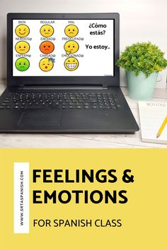 Are you looking for feelings activities for your Spanish classes? Practice activities for practicing emotions in Spanish class! Check out these resources for your novice middle school or high school Spanish classes. Reading, writing, listening & speaking activities are all included in this blog post to help you teach los sentimientos or feelings in Spanish! Great ideas for lesson plans as you teach feelings in Spanish to your secondary students! #spanishclass #secondaryspanish Feelings Activities, Class Activities, Spanish Classroom, Teaching Spanish, Grid Puzzles, Class Routine, Middle School Spanish, Spanish Lesson Plans, Vocabulary Practice