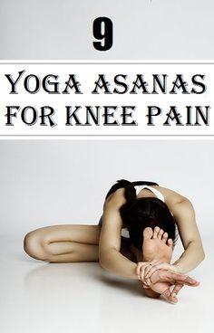 Top 9 Yoga Asanas for Knee Pain..