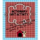 This is a dictionary art activity freebie to accompany my Diggin' Through the Dictionary Skill Packet in my TPT store....