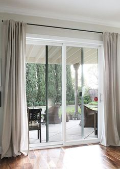 Curtain rods for large sliding glass doors httppecospackers image result for sliding door curtains planetlyrics Choice Image