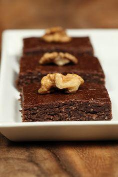 chocamole: Πεντανόστιμα Ωμοφαγικά Brownies!
