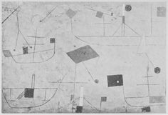 Paul Klee 'Sensible Schiff' (Sensitive Ships) 1928