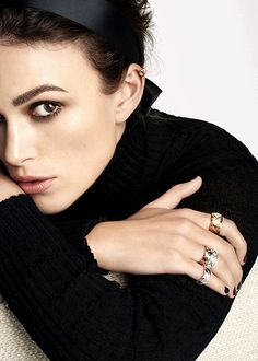 "knightleyfans: """"Keira Knightley for Chanel's Coco Crush "" "" Keira Knightley Chanel, Keira Christina Knightley, Kira Knightley, Jewelry Ads, Chanel Jewelry, Jewellery, Bend It Like Beckham, Garance, Olivia Wilde"