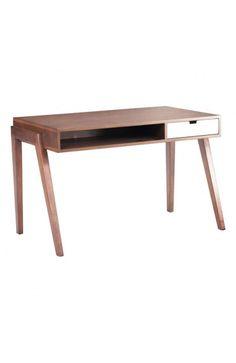 "46"" W Linea Desk for Master Bedroom"