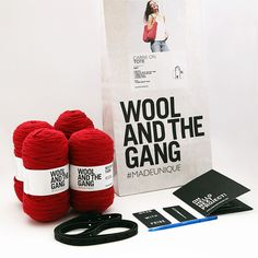 Wool and the Gang | Carrie On Tote Crochet Kit