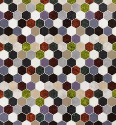 www.natucer.es News Cersaie 2013 - Natucer Ceramic Tiles  PANAL DIA, MENTA, VERMELL, CAQUI, TURQUESA, TABAC, LAVANDER, BLUISH - 6,5 x 30