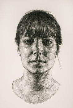 Dorielle Caimi (graphite on paper)