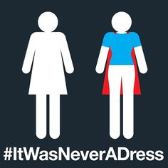 To all the strong intelligent female teachers moms sisters & daughters out there... Happy International Womens Day! #ItWasNeverADress #WomensDay