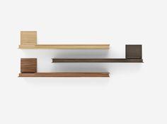 #Flap: the perfect shelf.  #shelf #wood #finishes #design #designers #design #shelves #scaffale #books #designlovers #container