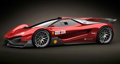 Ferrari Xezri Design Concept Sports Up and Wears its Competizione Costume - Carscoop