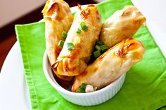 Barbecue Chicken Rolls