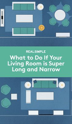 What to Do if Your Living Room is Super Long and Narrow   Divvy up the space to get the most out of the oddly shaped square footage. Opt for either two defined spots or a more fluid layout. Take a look at some ideas.