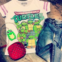 Teenage mutant ninja turtles outfit
