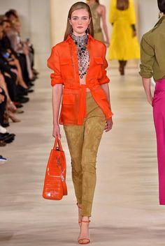 Ralph Lauren Spring 2015 Ready-to-Wear  (orange)