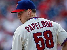 Phillies closer Jonathan Papelbon has 14 saves on the season and a 2.33 ERA. (David Maialetti /Staff Photographer)