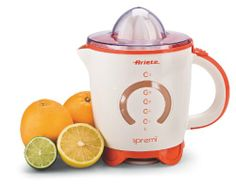 Electrodomestico - Ariete Spremì – Exprimidor -  http://tienda.casuarios.com/ariete-spremi-365-x-26-x-365-mm-plastico-naranja-blanco-exprimidor/