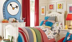 Dr Suess themed bedrooms and decor...the coolest kids room ever!!  It could be a play room, or even better, our fun and wacky guest bedroom