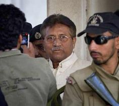 Pakistani police reaches Musharraf's farmhouse with arrest order