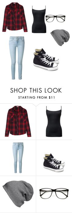 """""""comfy"""" by emily4everguru on Polyvore featuring LnA, Uniqlo, Frame Denim, Converse, BP., women's clothing, women, female, woman and misses"""