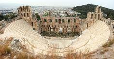 Teatro Herodes Ático, Grecia. Edificio Civil