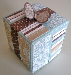 Parisian Breeze Origami Gift Box