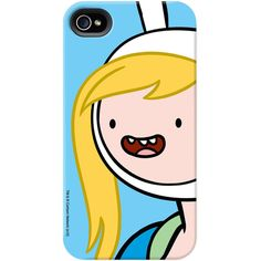 Adventure Time Fionna Portrait Phone Case for iPhone and Galaxy (120 BRL) ❤ liked on Polyvore featuring accessories, tech accessories, phone cases, phones, cases, electronics and comic book