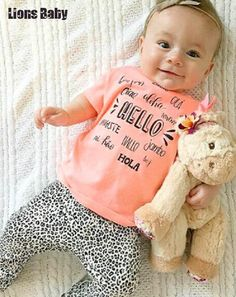 >> Click to Buy << Fashion Ins Newborn Kids Baby Girls Clothes 2016 Baby Fashion Baby Gift Set Bodies Bebes Set Infant Clothing Roupa Infantil #Affiliate