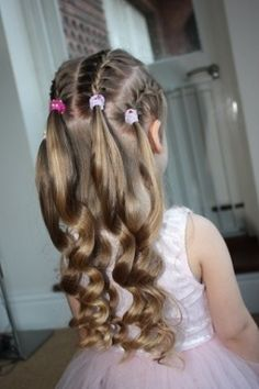 Find us on: www.greatlengths.pl  www.facebook.com/greatlengthspoland kids kid child children hair hairstyle kids hair do's and accessories by sharron. I can't wait till claire's hair is this long!