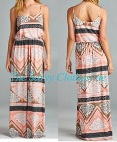 New Vendor: Great summer addition this Geo Print Maxi Dress!  Ordering ends Friday, July 24th and estimated arrival is 40 days.  Order here: http://thesavvyclothesline.storenvy.com/products/13871691-geo-print-maxi-dress-0715-3-06