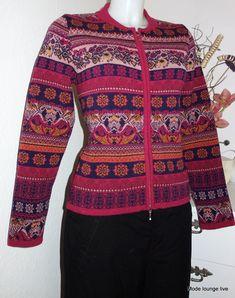 KOOI Lammwolle Jacke fjord lambswool coat jacket jc 15121 rot red cherry | eBay Christmas Sweaters, Knitwear, Online Price, Cherry, Men Sweater, Coat, Red, Jackets, Things To Sell