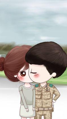 ❤💜💝Follow me on Instagram❣ @imkomal06 💙💚💛💟 Love Cartoon Couple, Chibi Couple, Cute Couple Art, Anime Love Couple, Cute Anime Couples, Kawaii Chibi, Cute Chibi, Cute Love Cartoons, Cute Cartoon