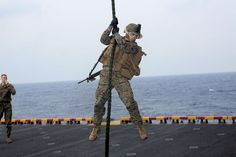 Enhancing core Marine Corps infantry skills on a naval vessel comes with a set of unique challenges. Space and time are huge limitations for the Marines, who are accustomed to setting up shop on large ranges to get the job done.