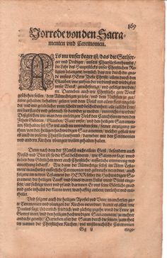 1572 printing of the Augsburg Confession, by Johannes Eichorn, Frankfurt